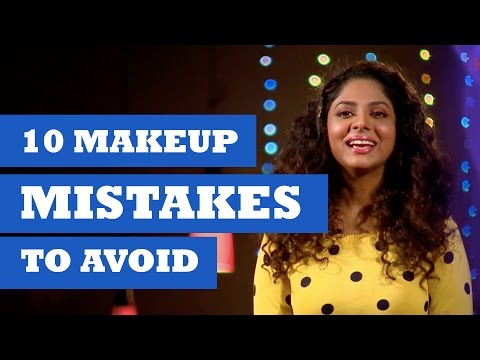 Makeup Mistakes to Avoid - Get Stylish With Poornima Indrajith - Kappa TV