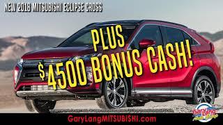 Auto Show Savings at Gary Lang Mitsubishi!