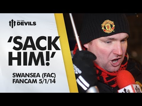'Sack Him!' | Manchester United 1-2 Swansea - FA Cup | ANDY TATE RANT