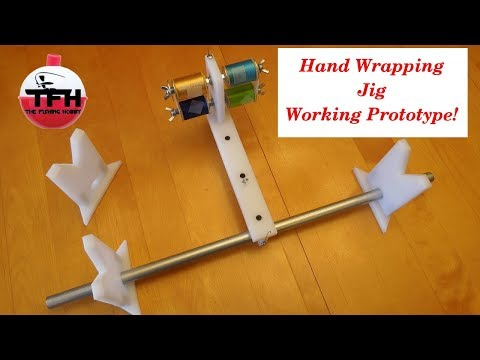 Guide Wrapper For Rod Building (Prototype: Completed Version Now Available - See Description)