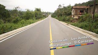 Inaguración y entrega obras viales para Pangua