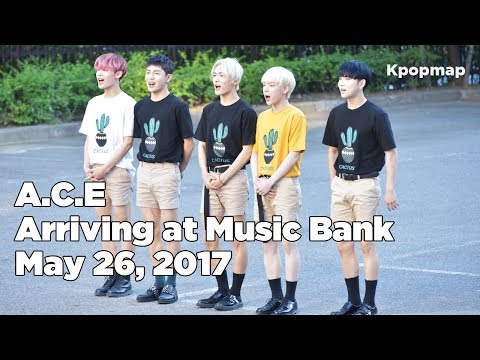 170526 A.C.E (에이스) arriving at Music Bank @Kpopmap