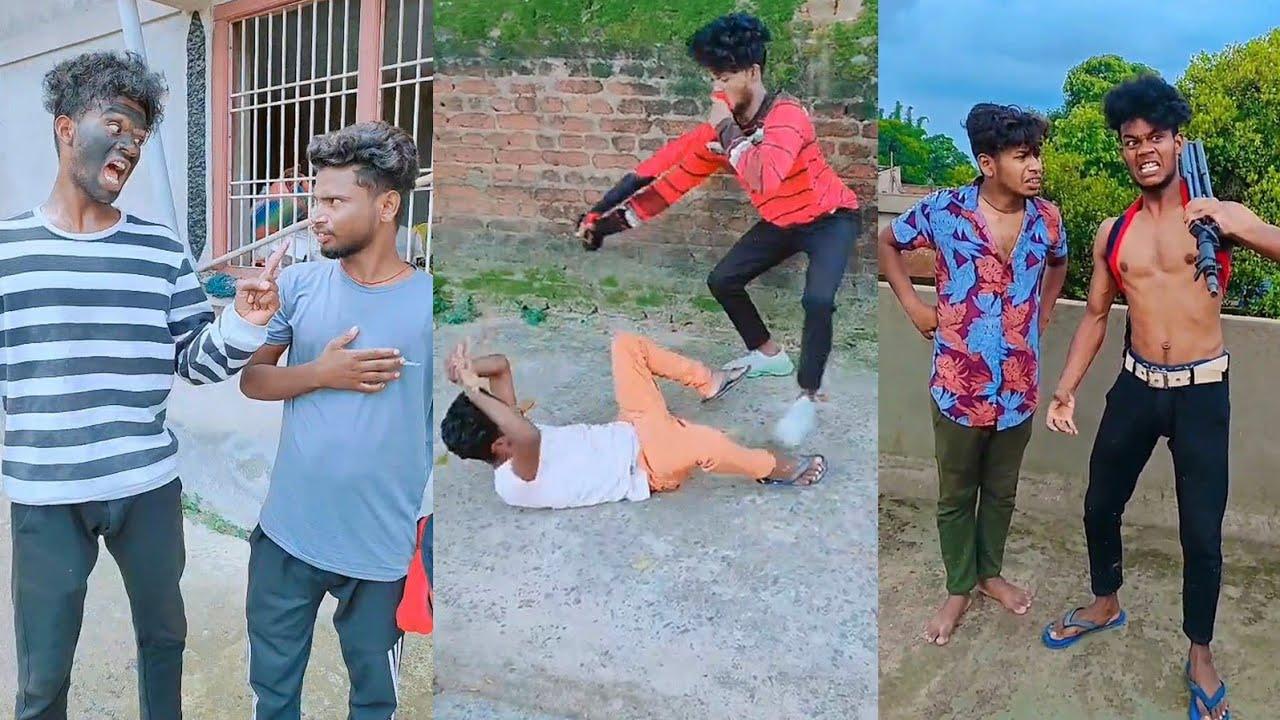 Basanti Name Tha Uska Pata Nahi Kiss Kutte Ke Sath Chali Gaii😜😄.