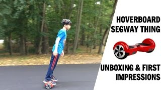 I GOT A HOVERBOARD/SEGWAY/SMART BALANCE WHEEL! | Unboxing/first impressions(, 2015-09-25T02:25:35.000Z)