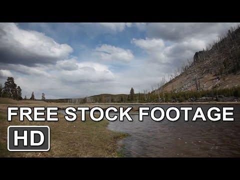Free Stock Footage! *Yellowstone River [HD]