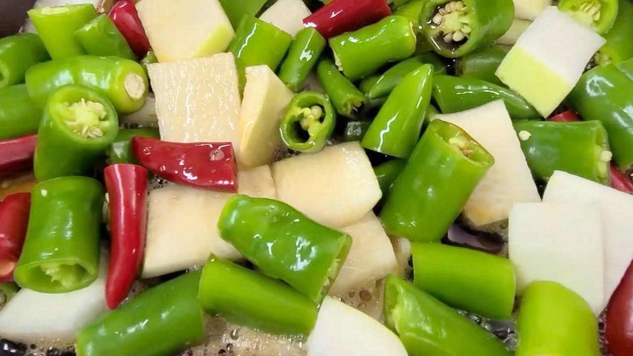 아삭아삭 맛있는 양파장아찌 담그는 법
