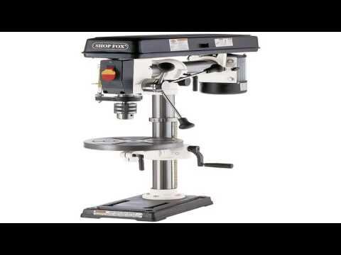 shop-fox-w1669-12-horsepower-benchtop-radial-drill-press