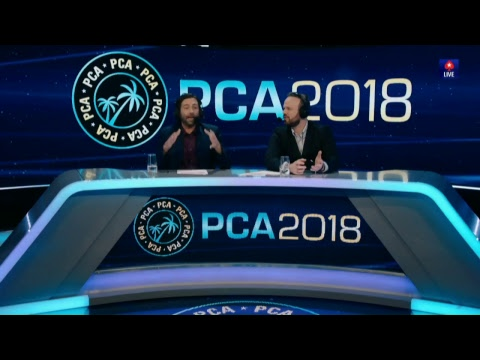 Dia 2 Main Event PCA 2018 (cartas Expostas)
