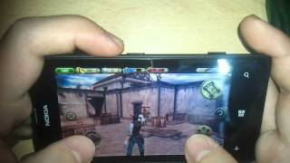 Six Guns  Gameplay - Windows Phone (Nokia Lumia 520)