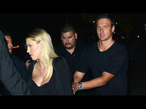 Ryan Lochte Celebrates End Of Swimming Ban In Hollywood With Kayla Rae Reid