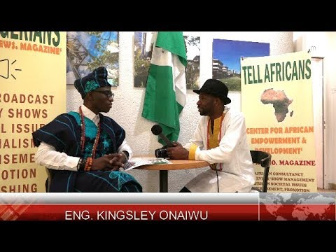 Engineer Kingsley Onaiwu Speaking With TELL Nigerians @ The Nigeria Independent Celebration, 2017