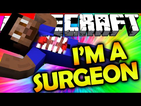 I'M A SURGEON! - Minecraft MASTER SURGEON Puzzle Map