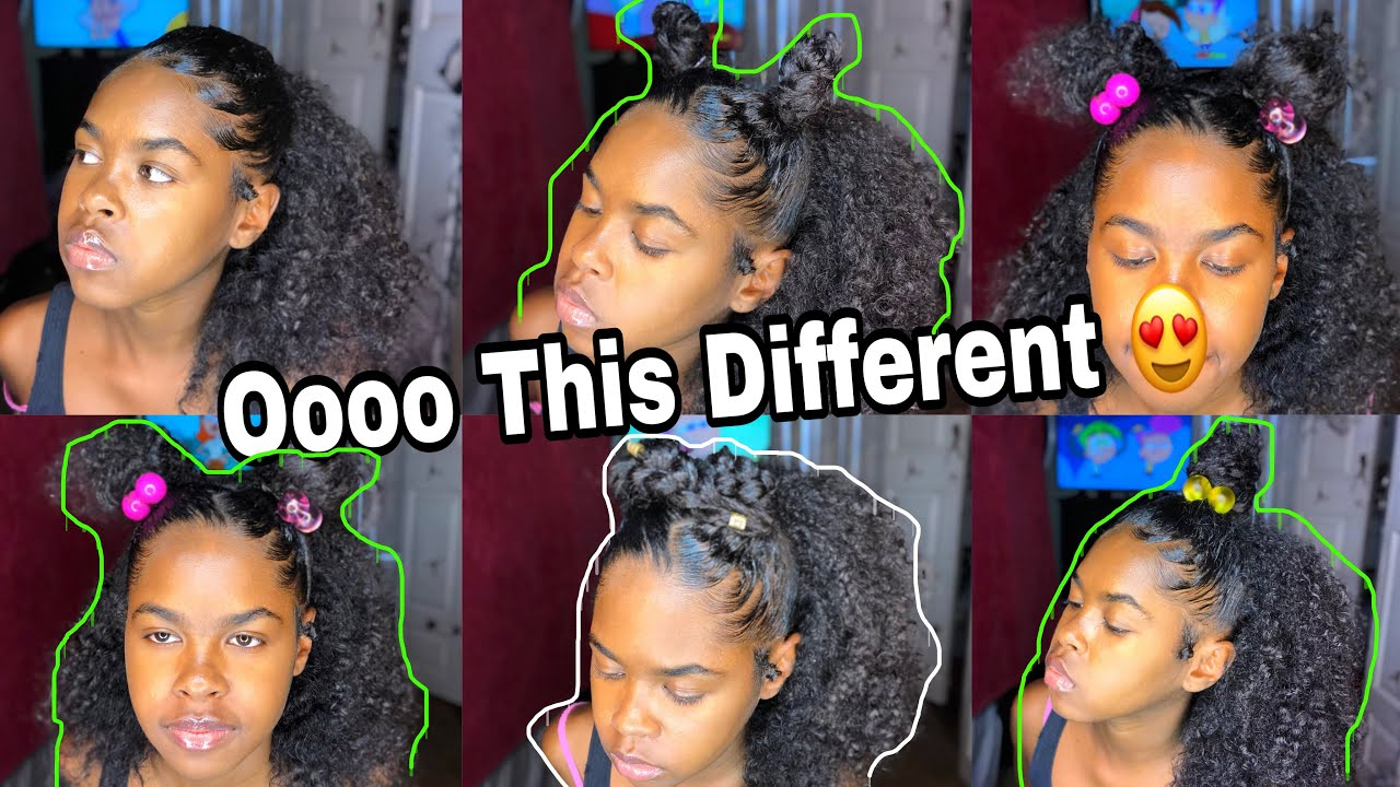 Cute Half Up Half Down Hairstyles On Curly Hair Ft Modern Show Hair