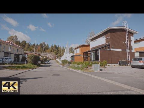 【4K】Cycling - Helsinki-Vantaa Suburbs