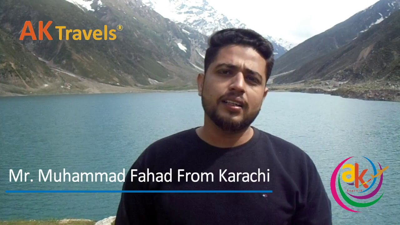 Mr. Muhammad Fahad and Family from Karachi | Naran Kaghan & Murree Tour 2018