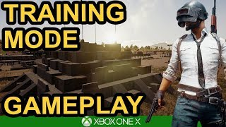 TRAINING MODE IS HERE! / PUBG Xbox One X