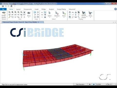 Structural Bridge Design Software | CSiBridge