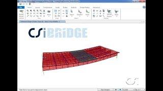 CSiBridge - 11 Modeling using Staged Construction: Watch & Learn