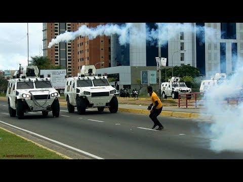 Marcha contra la constituyente acaba en Orinokia Mall - Guayana #10Jun