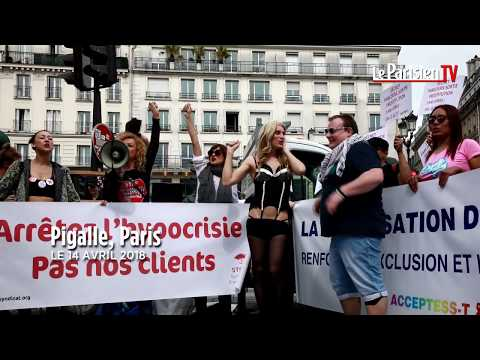 Loi prostitution : les travailleurs du sexe descendent dans la rue