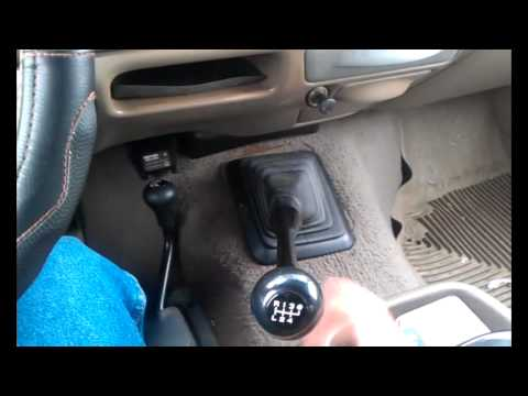 Ford Superduty ZF6 Before and After Short Shift Kit - YouTube
