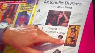 Antonella Di Pinto in arte Alexa Elena citata da Gianni Ippoliti