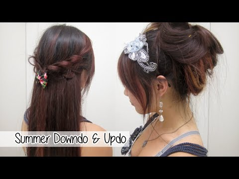 2 Cute Summer Hairstyles L Quick Amp Easy Hairstyles For
