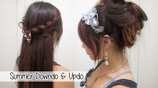 2 Cute Summer Hairstyles l Quick & Easy Hairstyles for School