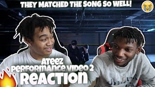 ATEEZ(KQ Fellaz) Performance Video Ⅱ - REACTION