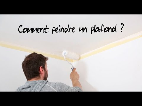 Comment Peindre Un Plafond   Youtube