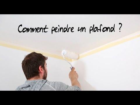 comment peindre un plafond - Comment Peindre Un Plafond Facilement
