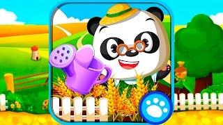 Огород Доктора Панды - Обзор развивающего приложения для детей. Dr  Panda's Veggie Garden