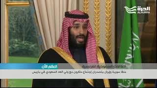 ملفا سورية وإيران يتصدران اجتماع ماكرون مع ولي العهد السعودي في باريس