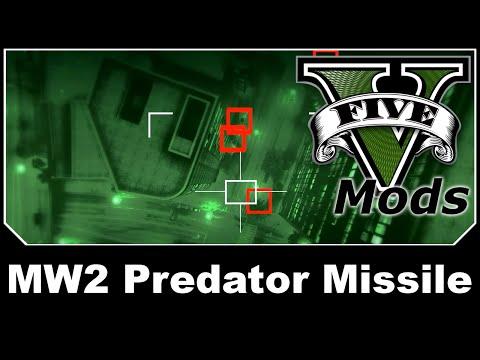 GTAV Mod Spotlight - MW2 Predator Missile