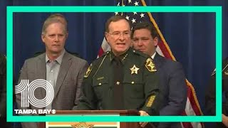 Sheriff Grady Judd explains difference between peaceful protests and riots
