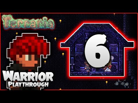 ⚔️ Granite Clearout & 1st Granite Base | Terraria 1.3.5 Let's Play | Warrior Playthrough [Episode 6]