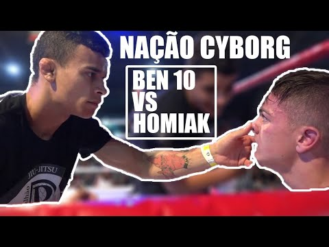 Nação Cyborg Fight Night 1: Colombo Brasil :Fábio Ben 10 Vs  Leonardo Homiak (K1)