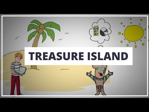 TREASURE ISLAND BY ROBERT LOUIS STEVENSON // ANIMATED BOOK SUMMARY