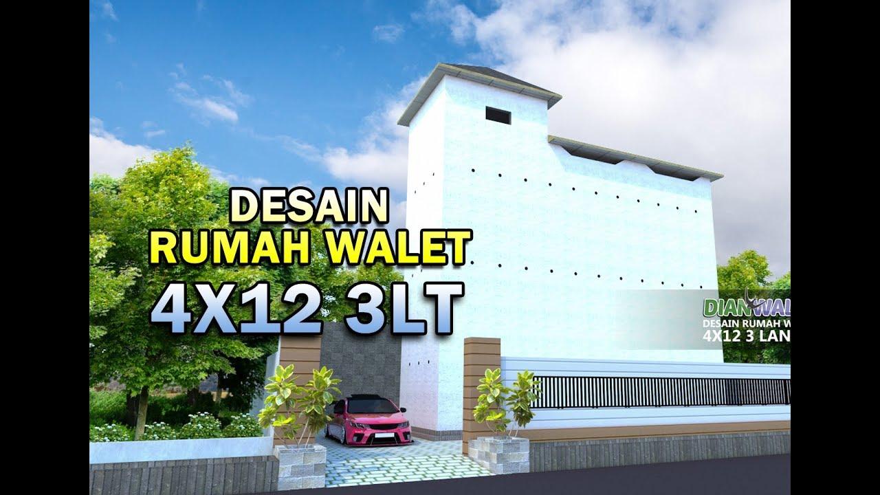 DIAN WALET Desain Rumah Walet 4X12 3 Lantai YouTube