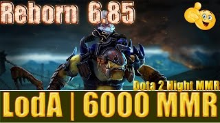 Dota 2 reborn 6 85  LodA 6000 MMR Alchemist Ranked Match Gameplay!