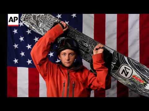 Snowboarder Red Gerard's Yard