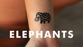 Little Elephant Tattoos