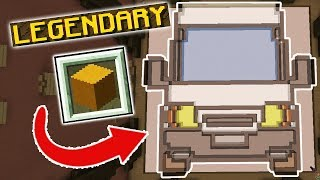 ONLY GLASS PIXEL ART CHALLENGE! (Minecraft Build Battle)