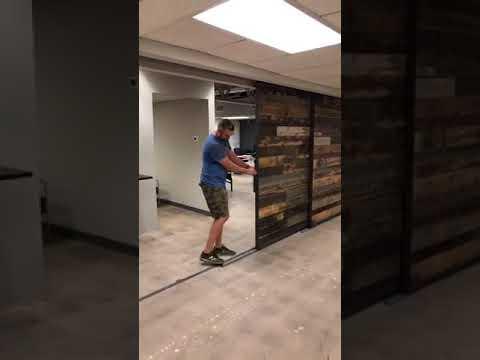 Office Center Barn Doors in Arcadia Arizona
