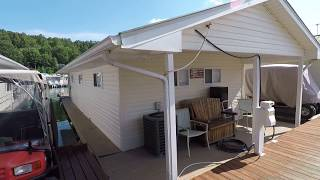 16 x 36 Floating Cottage 576sqft For Sale on Norris Lake TN - SOLD!