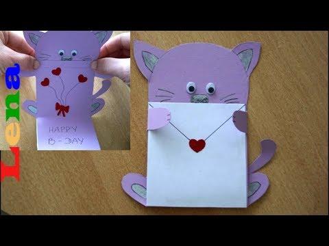 Kreative Kids Mit Lena Geburtstagskarte Basteln Für Kinder