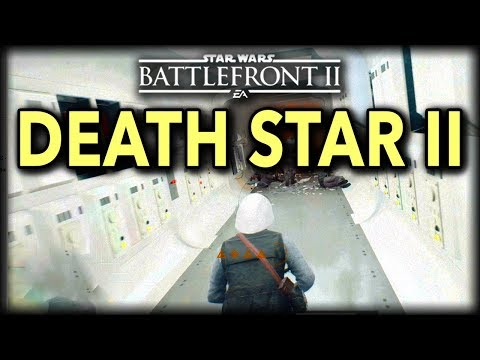Star Wars Battlefront 2 GALACTIC ASSAULT ON DEATH STAR II GAMEPLAY