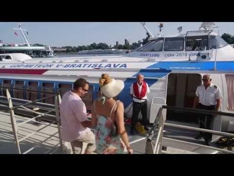 Danube Cruises Vienna - Bratislava by hydrofoil (since 1964)