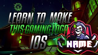 How To Make A Gaming Logo On IOS
