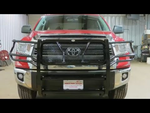 Frontier Grille Guard Installation on 2014-2015 Toyota ...